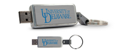 University of Delaware Custom Logo USB Drive Keychain 8GB