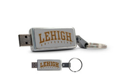 Lehigh University Custom Logo USB Drive Keychain 16GB