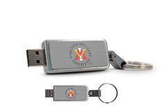 Virginia Military Institute Custom Logo USB Drive Keychain 16GB