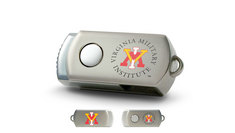 Virginia Military Institute Custom Logo USB Drive DataStick Twist 16GB