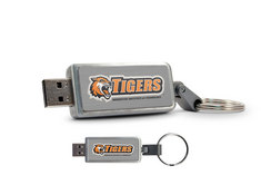 Centon Rochester Institute of Technology Custom Logo USB Drive Keychain 16GB
