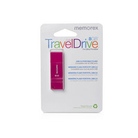 Memorex 8GB TravelDrive Pink