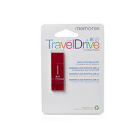 Memorex 8GB TravelDrive Red