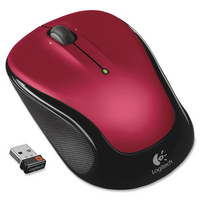 Wireless Mouse M325 Red