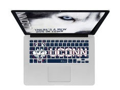 UConn logo keyboard cover