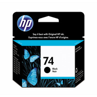 HP 74 Black Inkjet Print Cart