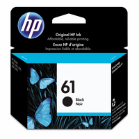 HP CH561WN#140 GENUINE 61 BLACK INK DESK JET