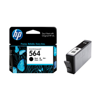 HP CB316WN#140 GENUINE 564 BLACK INK PHOTO
