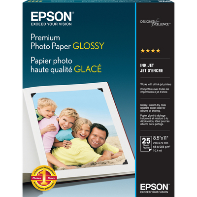 Prem Glossy Photo Paper 25 sht