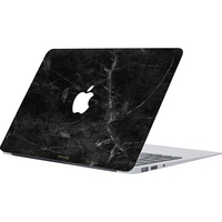 Happy Plugs, Inc Happy Plugs Laptop Skin Macbook Air 13, Black Marble