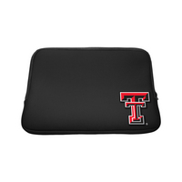 Texas Tech University Custom Logo Sleeve Black 15in