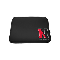 Northeastern University Custom Logo Neoprene Sleeve Black 13in