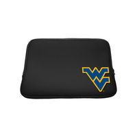 West Virginia University Custom Logo Sleeve Black 13 Inch