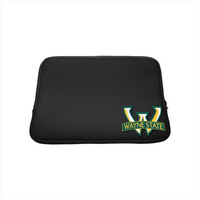 Wayne State Custom Logo Laptop Sleeve 13in Black