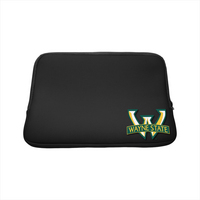 Wayne State Custom Logo Laptop Sleeve 15in Black