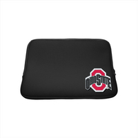 Ohio State University Custom Logo Neoprene Sleeve Black 13in