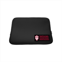 Indiana University Custom Logo Neoprene Sleeve Black 13in