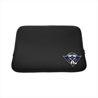 University of Tennessee Martin Custom Logo Laptop Sleeve Black 15in 15in Black