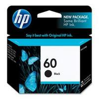 HP 60 Black Ink Cartridge P