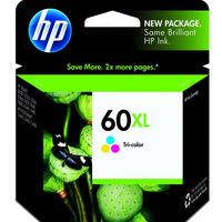 HP 60XL TriColor Ink Crtrdge P