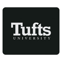 Tufts University Custom Logo Mouse Pad