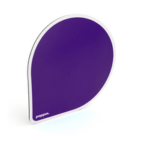 Poppin Purple Mouse Pad