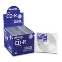 Memorex CD-R 80Min With Slim Line Jewel Case 2 Pack