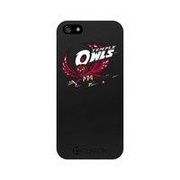 Temple University Custom Logo iPhone 5 Case, Black