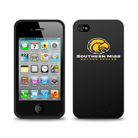University of Southern Mississippi Custom Logo iPhone 4 Case Black