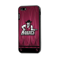 iPhone 55S case with rubber edges to protect your iPhone while showing off your school spirit!