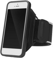 INCASE Sports Armband Deluxe iPhone 5, 5S in Black, Silver