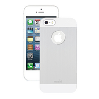 MOSHI CORP iGlaze Armour for iPhone iPhone 5 and 5S Silver