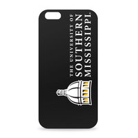 University of Southern Mississippi Custom Logo iPhone 6 Black Case by Centon