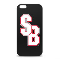 Stony Brook University Custom Logo iPhone 6 Black Case by Centon