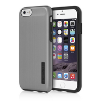 Incipio DualPro SHINE for iPhone 6, Gunmetal and Black