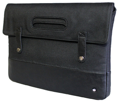 PKG13Foldover Bag Black