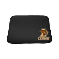 Lehigh University Custom Logo Sleeve Black 15in