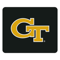 Georgia Tech University Custom Logo Mouse Pad Black