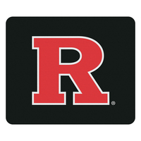 Rutgers University Custom Logo Mouse Pad, Black