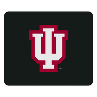 Indiana University Custom Logo Mouse Pad Black