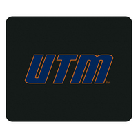 University of Tennessee Martin Custom Logo Mouse Pad Black  Black