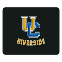 University of California Riverside Custom Logo Mouse Pad, Black