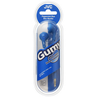 JVC Gumy Ear Bud Headphone, Blue