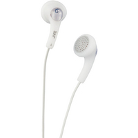 JVC Gumy Ear Bud Headphone, White