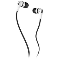 Skullcandy, Inc Inkd 2.0 Earbud Headphones with Mic, White & Black