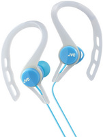 JVC Sport Clip In Ear Headphone, Blue