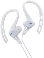 JVC Sport Clip In Ear Headphone, White