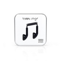 Happy Plugs Earbuds, Black