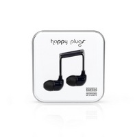 Happy Plugs In Ear Earbuds, Black