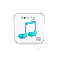 Happy Plugs In Ear Earbuds, Turquoise